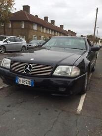 Mercedes sl300 left hand drive 1993