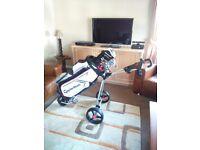 Full set of benross golf clubs