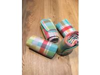 Picnic Blankets - FOUR for £4 !!! Used ONCE
