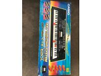 Casio key lighting system with touch response. CTK-62OL