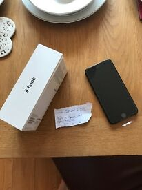 New unopened iPhone 7 Plus unlocked black 32GB