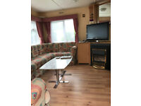 Holiday caravan to Let-3 bed, 8 berth, children, pet friendly,swimming pool+bbq+WiFi £110/night