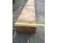 New Solid Oak Beams - one sizes – 18 pieces