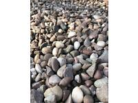 Decorative Naturally Rounded Garden Stones