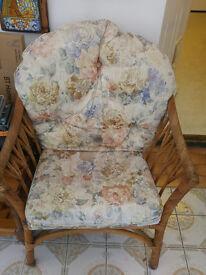 Wicker Chair Set