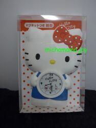 Sanrio Hello Kitty shape magnet wall clock cute petite size