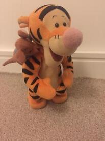 Talking & bouncing Tiger
