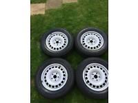 Vw caddy 16'' steel wheels