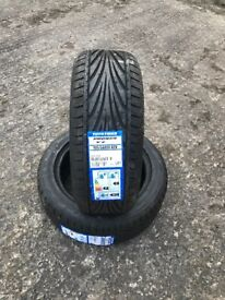 2 brand new toyo proxes T1R 195-50-15