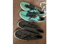 2 Pairs Men's Puma Suede Shoes - size 11 and 12