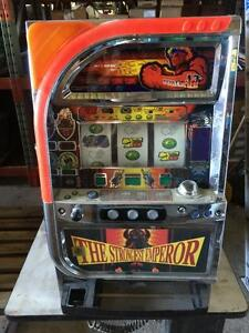 THE STRONGEST EMPEROR Digital LCD Japanese Pachislo Skill Stop Slot Machine