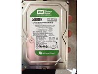 Western digital 500 gb hard drive