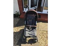 Chicco buggy pushchair with footmuff and rain cover