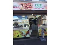 Fish and chips/ pizza shop for sale