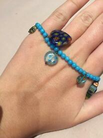 Beautiful blue bracelet