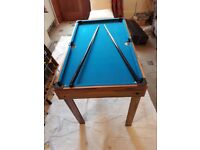 Pool Table with 5 more games