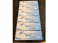 Acuvue Moist Daily Contact Lenses 6 Months Supply