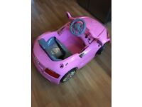 Kids Pink electric car