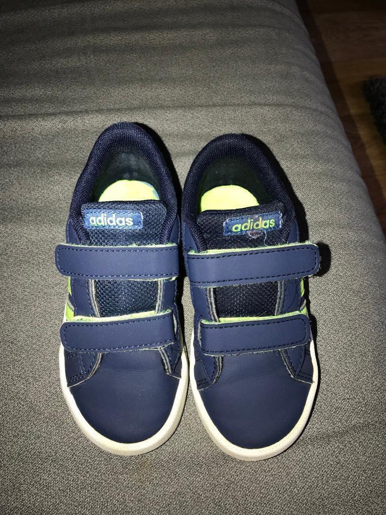 boys adidas trainers size 8