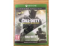 Xbox One Game - Call Of Duty Infinite Warfare Legacy Edition