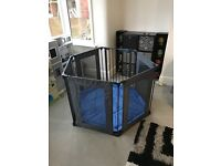 Lindam safe and secure fabric playpen