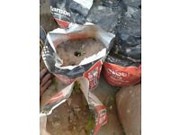 Bags of sand/soil