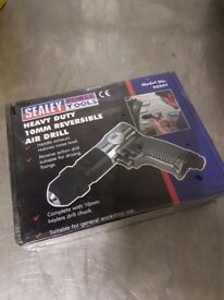 Brand NEW Sealey SA241 Air Drill 10mm Reversible with Keyless Chuck