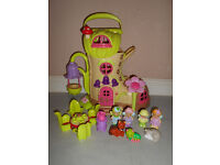 ELC Happyland Fairy Boot Play set with lights and sounds + Figures and Accessories