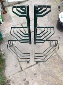 Pair of plant stands, patio/conservatory