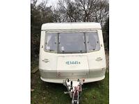 elddis 300 caravan, 4 berth, full awning vgc