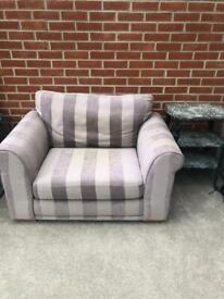 Next love seat/armchair