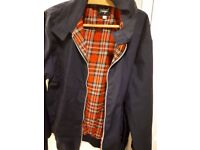 Vintage reclaimed men's jacket with tartan lining