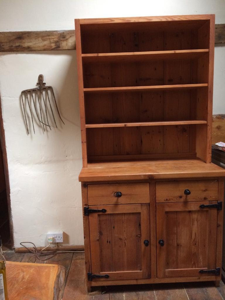 Modern solid pine Welsh dresser