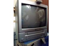 Toshiba television / vhs combi