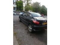 Peugeot 206 convertible sport car low miles quick sale urgent sale need to go start drive good cheap