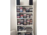 Pair of Billy bookcases from Ikea