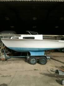 Yacht, Boat, Trailer Sailer