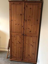 solid pine wardrobe can deliver