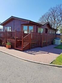 Gorgeous 2 double bedroom lodge in cumbria, site fees paid untill march 2019