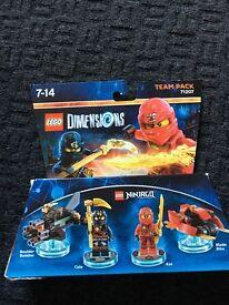 Lego dimensions ninjago team pack