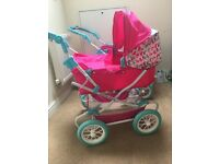 2 x Mamas & Papa's doll pushchairs