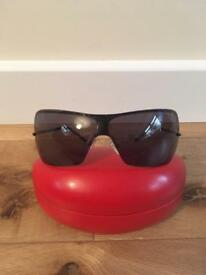 Stunning genuine Valentino sunglasses with original case.