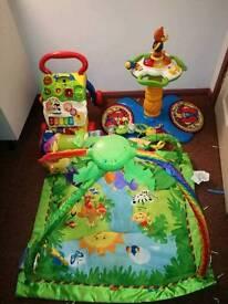 Baby bundle walker play mat etc