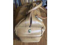 Vintage leather bag brown