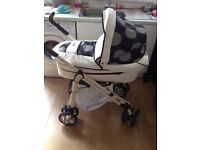 Baby style pram excellent condition