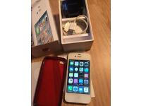 iPhone 4s 16GB O2,Gifgaff &tesco network