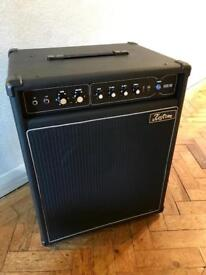 Kustom KXB100 Bass Amp. Retro Guitar Amplifier. 60s 70s Vintage Style
