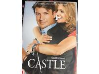 """Series Five of brilliant American Police Drama """"Castle"""". 24 episodes over 6 DVDs."""