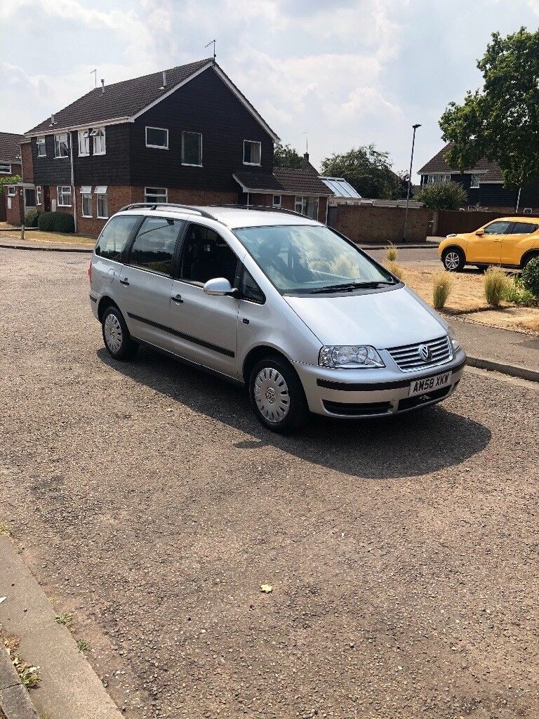 VW Sharan 1.9TDI Auto/Manual Mode Full Service History 1 Owner From New