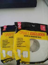 Draft Excluder on a roll
